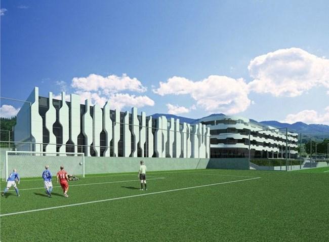 Резултат с изображение за нова футболна база Бояна