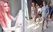 Дизайнерката Невена Николова, която облече първата ни дама за Брюксел: Десислава Радева и Емине Ердоган бяха най-елегантни. Мелания Тръмп действа стратегически