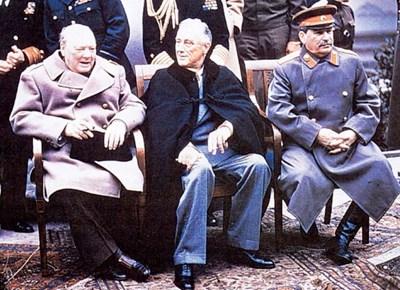 Чърчил, Рузвелт и Сталин