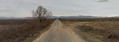 Катастрофата е станала между пазарджишките села Карабунар и Калугерово  СНИМКА: Гугъл стрийт вю