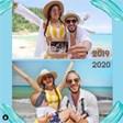Наум Шопов и Теа Минкова показаха с две снимки как се е применил животът им за година