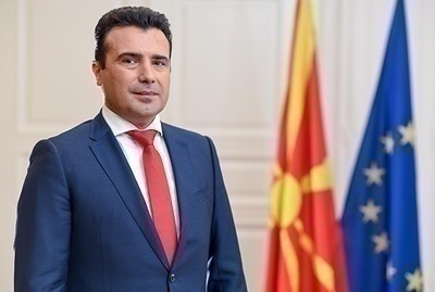 Лидерът на СДСМ Зоран Заев СНИМКА: Ройтерс