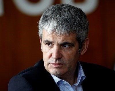 Президентът на КНСБ Пламен Димитров СНИМКА: Ахрив