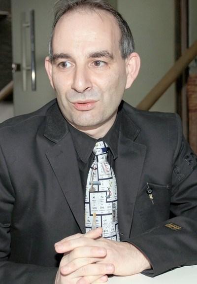 Петър Волгин СНИМКА: Архив