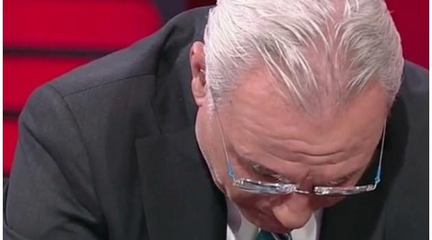 Стоичков се разплака в ефир заради расисткия скандал на мача България - Англия