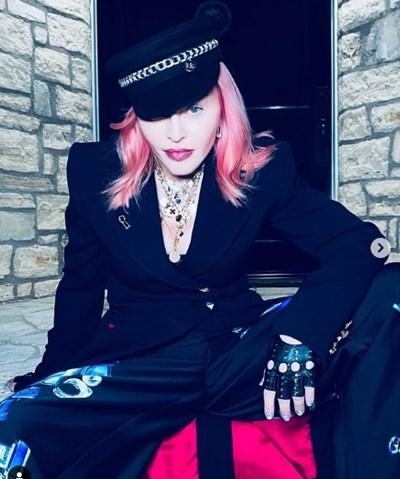 Мадона Снимки: Инстаграм/ madonna