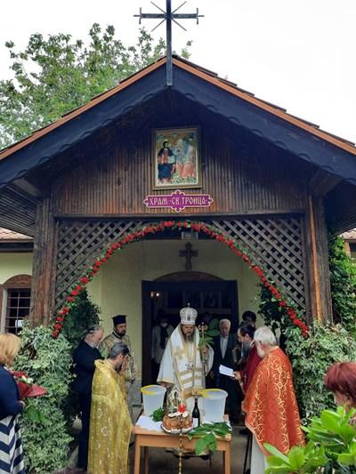 Тържествена света литургия в с.Айдемир / Снимки: община Силистра