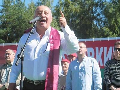 Гергов призова пенсионерите и младежите на подем срещу врага.