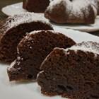 Постен шоколадов кекс