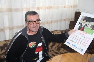 Ялдъз Газиев си осакатил едното око с бомбичка преди 43 г. и вече частично вижда с него СНИМКА: Валентин Хаджиев