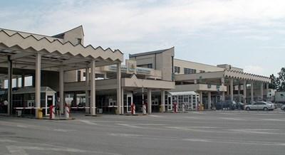"""Граничният пункт """"Кулата-Промахон"""". Снимка: Уикипедия"""