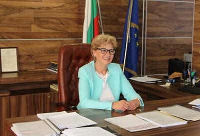 Виолета Комитова, служебен министър на регионалното развитие и благоустройство