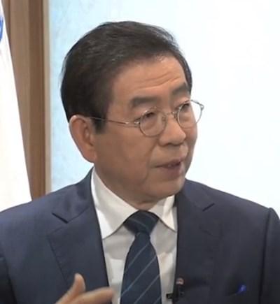Изчезналият кмет на Сеул Пак Вон Сун КАДЪР: Youtube/ ARIRANG NEWS