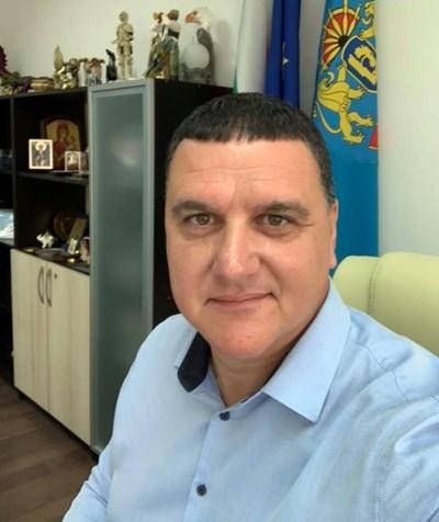 Кметът на Оряхово Росен Добрев. Снимка: Фейсбук