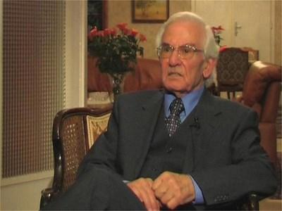 Продан Христов дава интервю в дома си във Виена. СНИМКА: НОВА ТВ