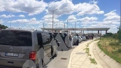 Тапа на границата с Гърция