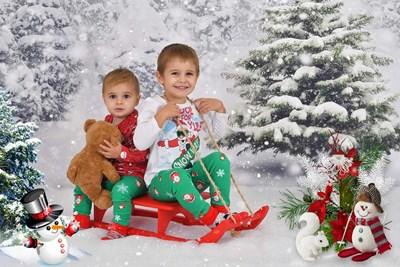 Емо е 4 години и 4 месеца, а Габи е на година и 7 месеца. СНИМКИ: ЛИЧЕН АРХИВ