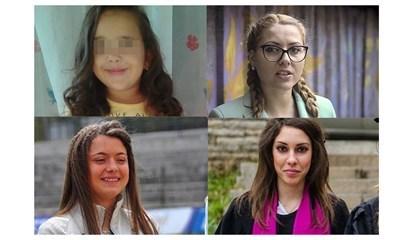 От ляво на дясно - Кристин, Виктория, Мирослава и Вероника
