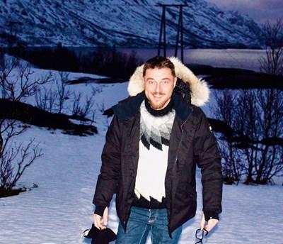 Миро беше на Северния полярен кръг в началото на годината.