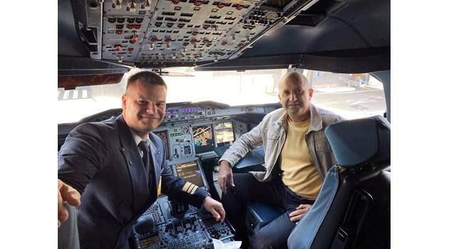 Пилотът на най-големия пътнически самолет в света вози в него президента Румен Радев до Ню Йорк