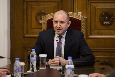Президентът Румен Радев СНИМКА: Прессекретариат на държавния глава