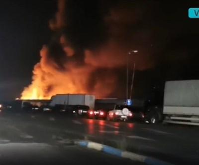 Видео от пожара бе разпространено от vox64 във фейсбук.