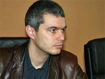 Зам.-председателят на ВМРО Костадин Костадинов