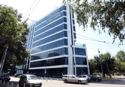 Сградата, където се намира Тв7 СНИМКА: Румяна Тонeва