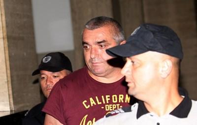 Куйович в Софийския градски съд СНИМКА: Благой Кирилов