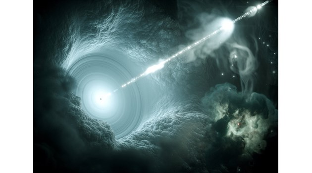 В окото на черната дупка. Възможно ли е това да са портали към други галактики или вселени?