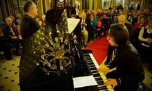 """""""Моя страна, моя България"""" изпълнена в Желязната църква в Истанбул"""