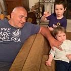Вижте снимка на Бойко Борисов с внуците