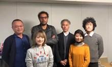 Тео Ушев научи японци на български, за да поздрави феновете си тук