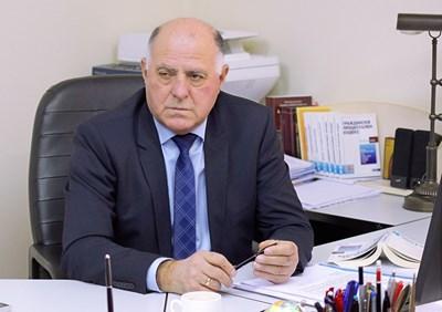 Боян Магдалинчев - представляващ ВСС СНИМКА: Румяна Тонeва