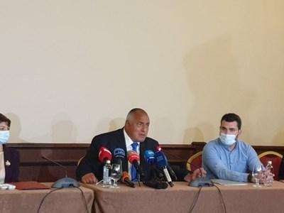 Борисов говори в Пловдив пред младежкия актив на ГЕРБ.