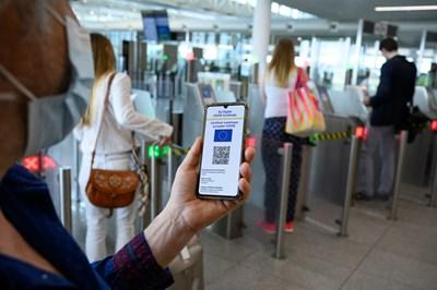 По примера на COVID сертификата с новия портфейл ще доказваме самоличността си.   СНИМКА: European Union, 2021