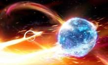 Черна дупка погълна неутронна звезда и предизвика вълни във време-пространството
