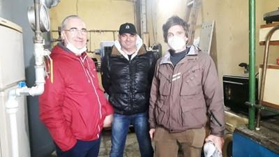 Дамян Димитров, Кирил Кьовторов и Владимир Владимиров /от ляво на десно/ без колебание решават да помогнат .
