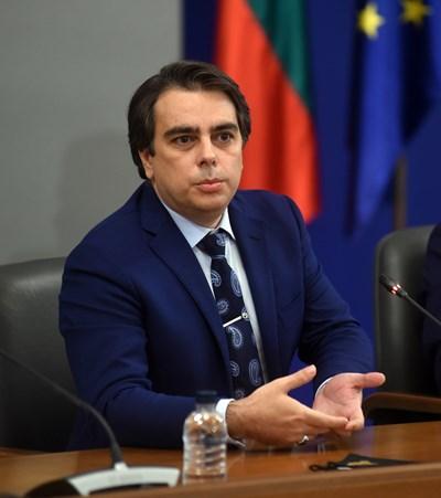 Проверката в АДФИ е разпородена от финансовият министър Асен Василев. СНИМКА: 24 часа