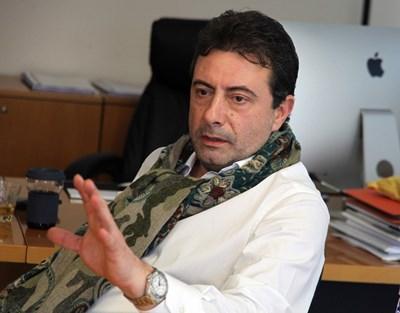 Константин Каменаров, генерален директор на БНТ СНИМКА: Румяна Тонeва