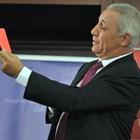 "Христо Стоичков вдигна червен картон на шефове и треньор на ""Барса"". СНИМКА: ВЛАДИМИР СТОЯНОВ"