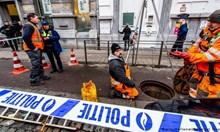 Апаши крадат 20 сейфа от Париба банк в Антверпен през канализационна тръба