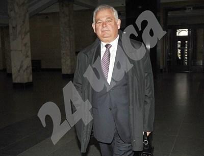 Ген. Кирчо Киров, заснет преди години в Съдебната палата. СНИМКА: 24 часа