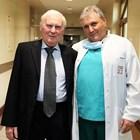 """Белодробната трансплантация на Мариян бе извършена на 26 октомври тази година от екип на УБ """"Лозенец"""", ръководен от проф. д-р Любомир Спасов (вдясно)."""