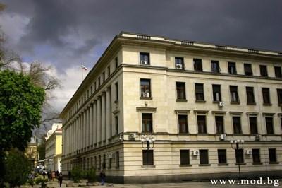 Това е сградата на Министерство на отбраната