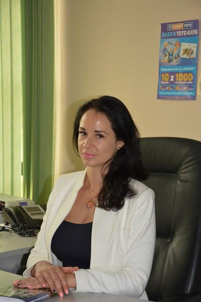 """Силвия Илкова, главен експерт в дирекция """"Маркетинг"""" на Български спортен тотализатор"""