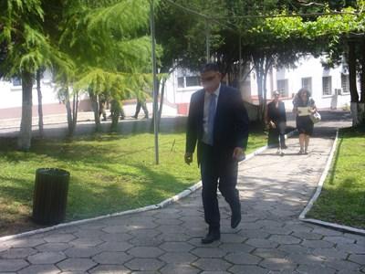 Служебният военен министър Георги Панайотов съобщи за откриването на черната кутия в Стара Загора. СНИМКА: Ваньо Стоилов
