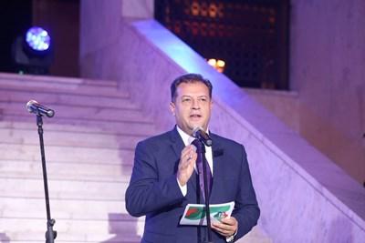 Председателят на Управителния съвет на НСОРБ и кмет на Велико Търново Даниел Панов СНИМКА: Николай Литов