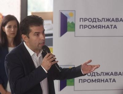 Кирил Петков. Снимка: Велислав Николов.