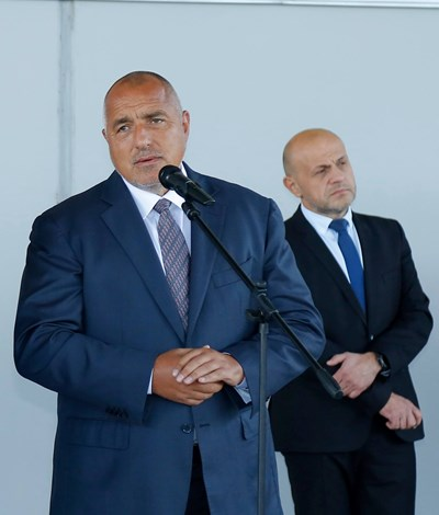 Бойко Борисов и Томислав Дончев СНИМКИ: Фейсбук/Бойко Борисов